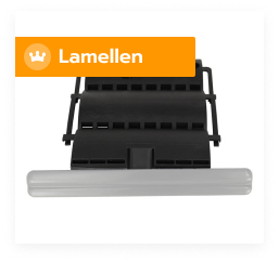 Lamellen en pantsers voor rolluiken in aluminium en PVC